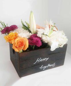 Κασελάκι με λουλούδια Αθήνα Ανθοπωλείο
