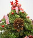 Χριστουγεννιάτικες συνθέσεις λουλουδιών-60