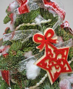 Χριστουγεννιάτικες συνθέσεις λουλουδιών