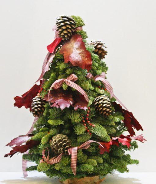 Χριστουγεννιάτικες συνθέσεις λουλουδιών-83