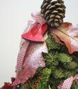 Χριστουγεννιάτικες συνθέσεις λουλουδιών-85